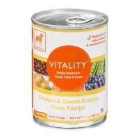 Dogswell Dog Food - Vitality - Chicken & Sweet Potato Stew Recipe 13 OZ