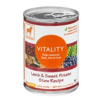 Dogswell Dog Food - Vitality - Lamb & Sweet Potato Stew Recipe 13 OZ