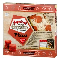 Against The Grain Gluten Free Gourmet Pizza Uncured Pepperoni - 24.0 OZ