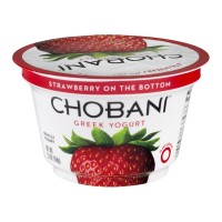 Chobani Greek Non-Fat Yogurt - Strawberry 5.3 OZ