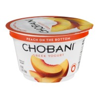 Chobani Greek Non-Fat Yogurt - Peach 5.3 OZ