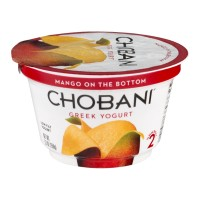 Chobani Greek Low-Fat Yogurt - Mango 5.3 OZ