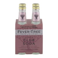 Fever-Tree Premium Natural Mixers - Club Soda - 4 CT / 6.8 FL OZ