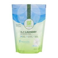 Grab Green 3 In 1 Laundry Detergent Pods - All Washers - Fragrance Free - 24 CT
