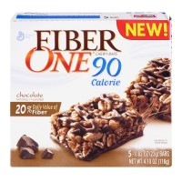 General Mills Fiber One 90 Calorie Chocolate Chewy Bars 5 CT - 4.5 oz