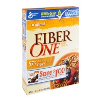 General Mills Fiber One Original Bran Cereal - 16.2 OZ
