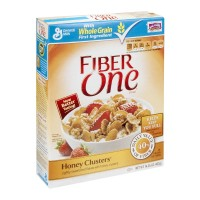 General Mills Fiber One Cereal -Honey Clusters - 14.25 OZ