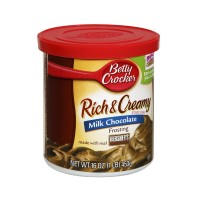 Betty Crocker Rich & Creamy Frosting - Milk Chocolate 16.0 OZ