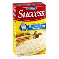Success Boil-in-Bag White Rice - 4 CT 14 OZ