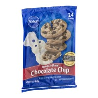 Pillsbury Ready to Bake! Chocolate Chip Cookie Dough - 24 CT 16 OZ