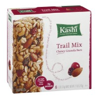 Kashi Chewy Granola Bars Trail Mix - 6 ct- 7.4 OZ