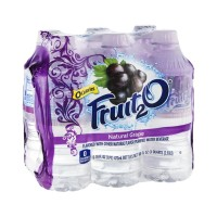 Fruit2O Flavored Purified Water - Grape - 6 CT / 16.0 FL OZ