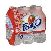 Fruit2O Flavored Purified Water - Strawberry - 6 CT / 16.0 FL OZ