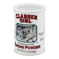 Clabber Girl Double Acting Baking Powder 8.1 OZ