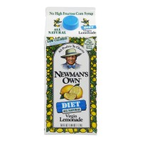 Newman's Own All Natural Diet Virgin Lemonade 59 FL OZ
