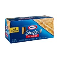 Kraft Singles American Cheese Slices - 72 CT 48 OZ