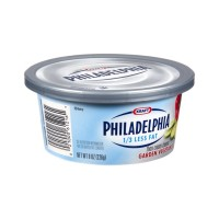 Kraft Philadelphia 1/3 Less Fat Garden Vegetable Cream Cheese - 7.5 OZ OZ