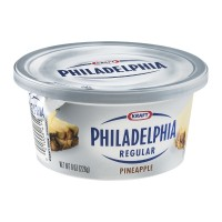 Kraft Philadelphia Regular Pineapple Cream Cheese 8 OZ