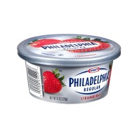 Kraft Philadelphia Strawberry Cream Cheese (tub) 8 OZ