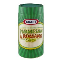 Kraft Parmesan & Romano Cheese Grated 8 OZ