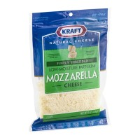 Kraft Mozzarella Cheese Finely Shredded 8 OZ
