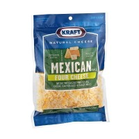 Kraft Mexican Style Finely Shredded Four Cheese 8 OZ