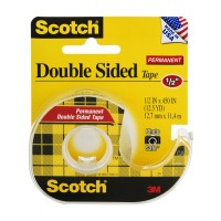 Scotch Permanent Double Sided Tape 12.5 YARDS