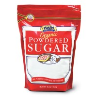 Hain Organic Powdered Sugar 16 OZ