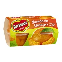 Del Monte Mandarin Oranges in Light Syrup - 4 CT