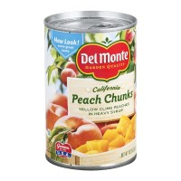 Del Monte California Peach Chunks - Heavy Syrup 15.25 OZ