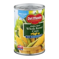 Del Monte Golden Sweet Whole Kernel Corn - No Salt Added 15.25 OZ