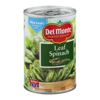 Del Monte Leaf Spinach 13.5 OZ