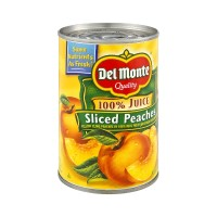 Del Monte Sliced Peaches in 100% Juice - 15.0 OZ