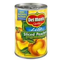 Del Monte Lite Sliced Peaches in Extra Light Syrup - 15.0 OZ