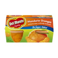 Del Monte Mandarin Oranges - No Sugar Added 4 CT