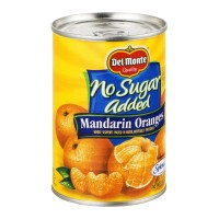 Del Monte Mandarin Oranges - No Sugar Added 15 OZ