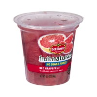 Del Monte Fruit Naturals No Sugar Added Red Grapefruit 6.5 OZ