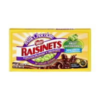 Nestle Raisinets California Raisins and Milk Chocolate 3.5 OZ