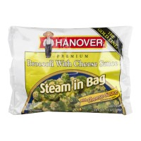 Hanover The Gold Line Steam in Bag Broccoli With Cheese Sauce - 10.0 OZ