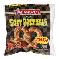Hanover Baked Soft Pretzels - Sourdough - 6 CT / 13 OZ