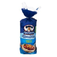Quaker Rice Cakes - Lightly Salted - 4.47 OZ