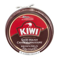 Kiwi Shoe Polish Brown 1.13 OZ