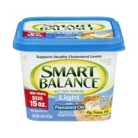 Smart Balance Buttery Spread Light With Flaxseed Oil 15 OZ