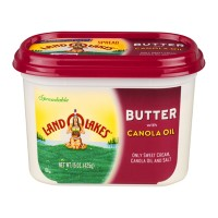 Land O Lakes Spreadable Butter With Canola Oil 15 OZ