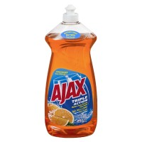 Ajax Triple Action Dish Liquid Hand Soap - Orange 28 FL OZ