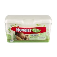 Huggies Natural Care Wipes Fragrance Free - 64 CT