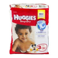 Huggies Snug & Dry Diapers Disney Jumbo Pack 3 16-28 lb - 32 CT