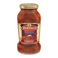 Bertolli Sauce Vineyard Marinara with Burgandy Wine 24 OZ