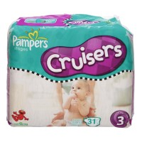 Pampers Stages Cruisers Size 3 Sesame Street Diapers Jumbo Pack - 32 CT