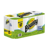 Bounty Paper Towels 8 Giant Rolls 8 CT